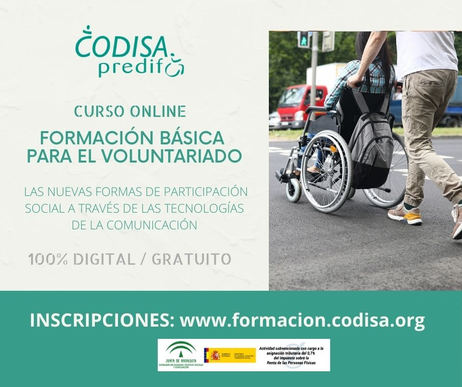 CURSO CODISA VOLUNTARIADO